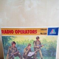 Maquettes: RADIO OPERATORS. ITALERI Nº328. ESCALA 1/35. CAJA PRECINTADA. Lote 177337822