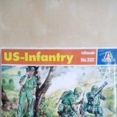 Maquettes: US-INFANTRY. ITALERI Nº332. ESCALA 1/35. CAJA PRECINTADA. Lote 177338927