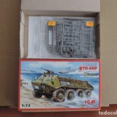Maquetas: MAQUETA - ICM 72901 BTR-60P ARMORED PERSONNEL CARRIER 1/72. Lote 177389128