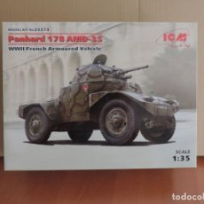 Maquetas: MAQUETA - ICM 35373 PANHARD 178 AMD-35 WWII FRENCH ARMOURED VEHICLE 1/35. Lote 177402275