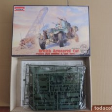 Maquetas: MAQUETA - RODEN 802 BRITISH ARMOURED CAR (PATTERN 1920 MODIFIED W/SAND TYRES) 1/35. Lote 177402593