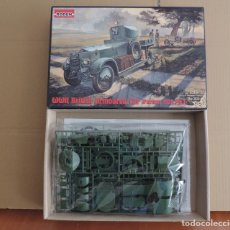 Maquetas: MAQUETA - RODEN 801 WWII BRITISH ARMOURED CAR (PATTERN 1920) 1/35. Lote 177402797
