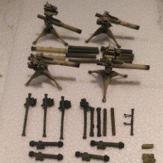 Maquetas: LOTE DE ARMAS MODERNAS 1/35 MONTADAS Y PINTADAS . Lote 177467554