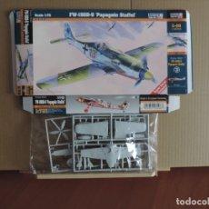 Maquetas: 7 MAQUETAS - MISTERCRAFT C-08 FW-190 D-9 APAGEIN STAFFEL 1/72 + 6 ZTS 1/72. Lote 177564193