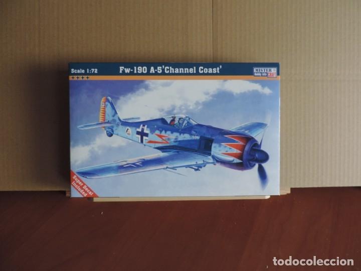 7 MAQUETAS - MISTERCRAFT C-02 FW-190 A-5 'CHANNEL COAST' 1/72 + 6 ZTS 1/72 (Juguetes - Modelismo y Radio Control - Maquetas - Aviones y Helicópteros)