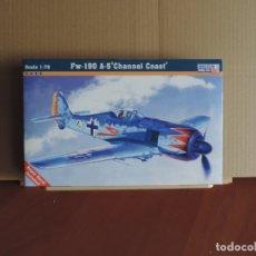 Maquetas: 7 MAQUETAS - MISTERCRAFT C-02 FW-190 A-5 'CHANNEL COAST' 1/72 + 6 ZTS 1/72. Lote 177567870