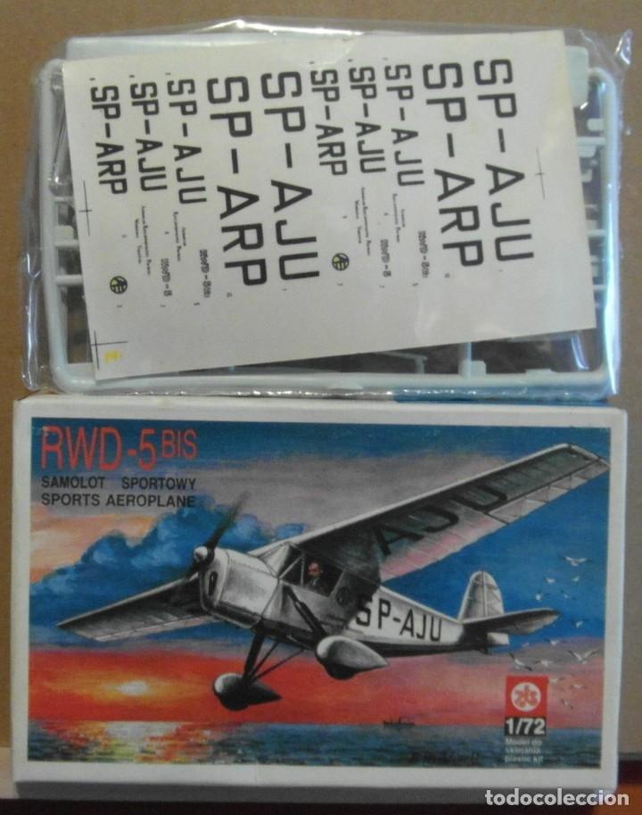 Maquetas: 7 Maquetas - Mistercraft C-02 Fw-190 A-5 Channel Coast 1/72 + 6 ZTS 1/72 - Foto 7 - 177567870