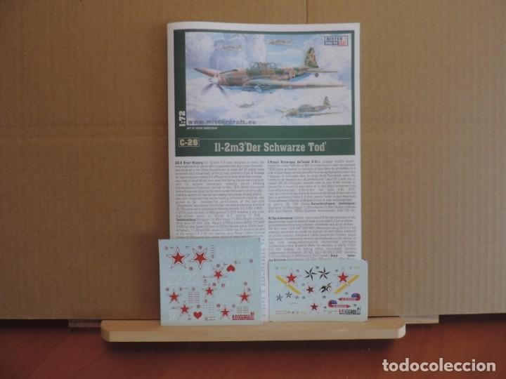Maquetas: 7 Maquetas - Mistercraft C-26 IL-2M3 DER SCHWARZE TOD 1/72 + 6 ZTS 1/72 - Foto 3 - 177568520