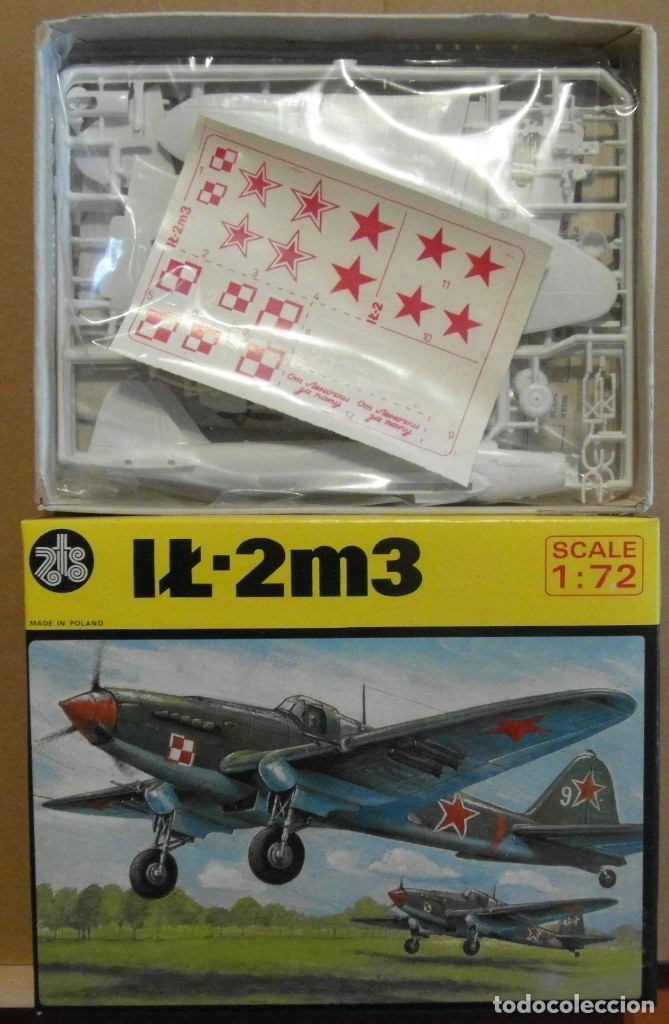 Maquetas: 7 Maquetas - Mistercraft C-26 IL-2M3 DER SCHWARZE TOD 1/72 + 6 ZTS 1/72 - Foto 10 - 177568520