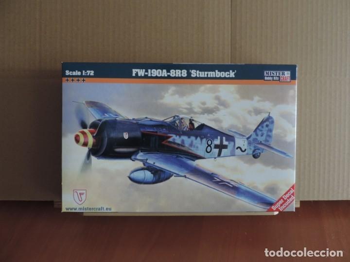 7 MAQUETAS - MISTERCRAFT C-06 FW-190A-8 STURMBOCK 1/72 + 6 ZTS 1/72 (Juguetes - Modelismo y Radio Control - Maquetas - Aviones y Helicópteros)