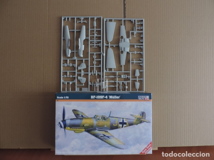 7 MAQUETAS - MISTERCRAFT C-38 BF-109 F-4 'MÜLLER' 1/72 + 6 ZTS 1/72 (Juguetes - Modelismo y Radio Control - Maquetas - Aviones y Helicópteros)