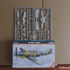 Maquetas: 7 MAQUETAS - MISTERCRAFT C-38 BF-109 F-4 'MÜLLER' 1/72 + 6 ZTS 1/72. Lote 177568987