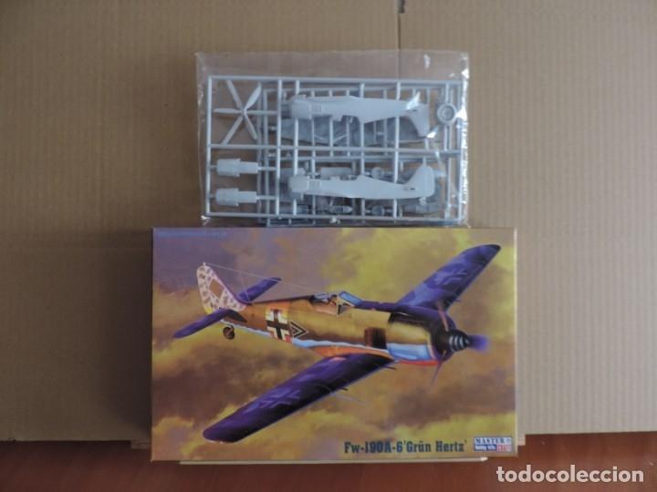 7 MAQUETAS - MISTERCRAFT C-03 FW 190A-6 GRUN HERTZ 1/72 + 6 ZTS 1/72 (Juguetes - Modelismo y Radio Control - Maquetas - Aviones y Helicópteros)