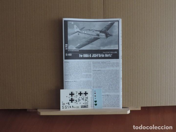 Maquetas: 7 Maquetas - Mistercraft C-03 Fw 190A-6 Grun Hertz 1/72 + 6 ZTS 1/72 - Foto 2 - 177569153
