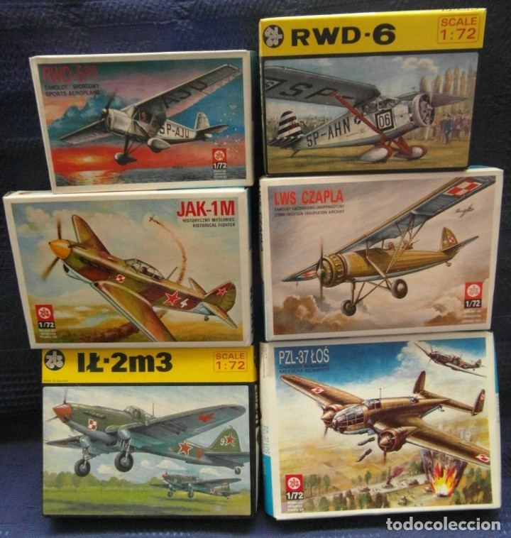 Maquetas: 7 Maquetas - Mistercraft C-03 Fw 190A-6 Grun Hertz 1/72 + 6 ZTS 1/72 - Foto 3 - 177569153