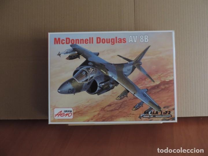 MAQUETA - AEROPLAST A-042 MCDD AV-8B HARRIER II 1/72 (Juguetes - Modelismo y Radio Control - Maquetas - Aviones y Helicópteros)