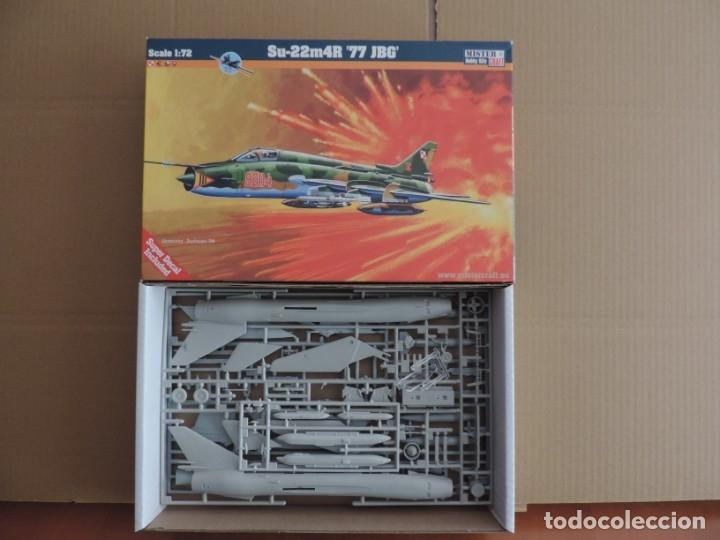 MAQUETA - MISTERCRAFT D-12 SU-22M4R 77 JBG 1/72 (Juguetes - Modelismo y Radio Control - Maquetas - Aviones y Helicópteros)