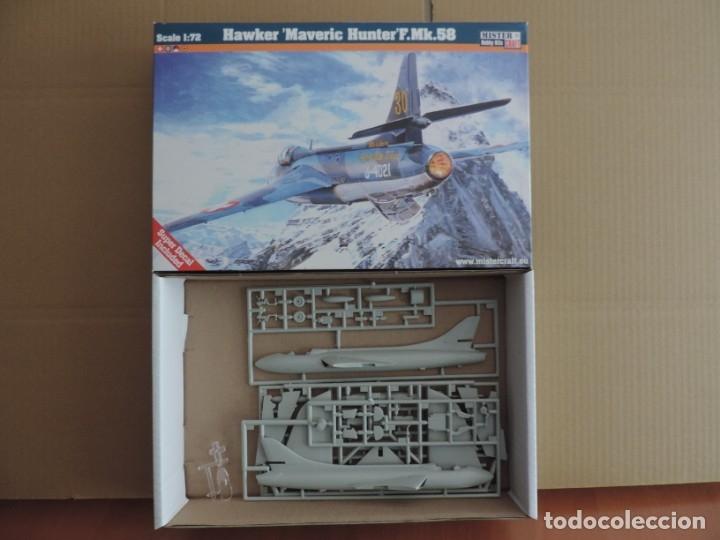 MAQUETA - MISTERCRAFT D-11 HAWKER MAVERIC HUNTER F.MK.58 1/72 (Juguetes - Modelismo y Radio Control - Maquetas - Aviones y Helicópteros)