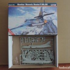 Maquetas: MAQUETA - MISTERCRAFT D-11 HAWKER MAVERIC HUNTER F.MK.58 1/72. Lote 177583884