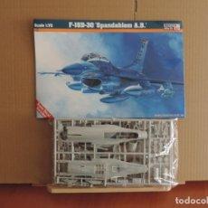 Maquetas: MAQUETA - MISTERCRAFT D-82 F-16D-30'SPANGDAHLEM A.B. 1/72. Lote 177584137