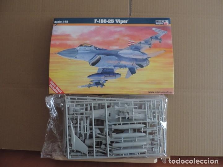 MAQUETA - MISTERCRAFT D-64 F-16C-25 VIPER 1/72 (Juguetes - Modelismo y Radio Control - Maquetas - Aviones y Helicópteros)