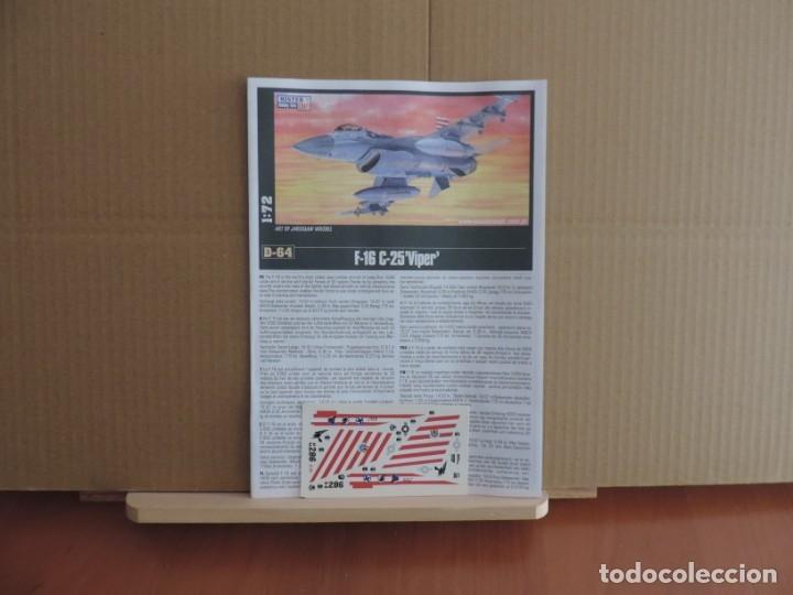 Maquetas: Maqueta - Mistercraft D-64 F-16C-25 Viper 1/72 - Foto 2 - 205531365