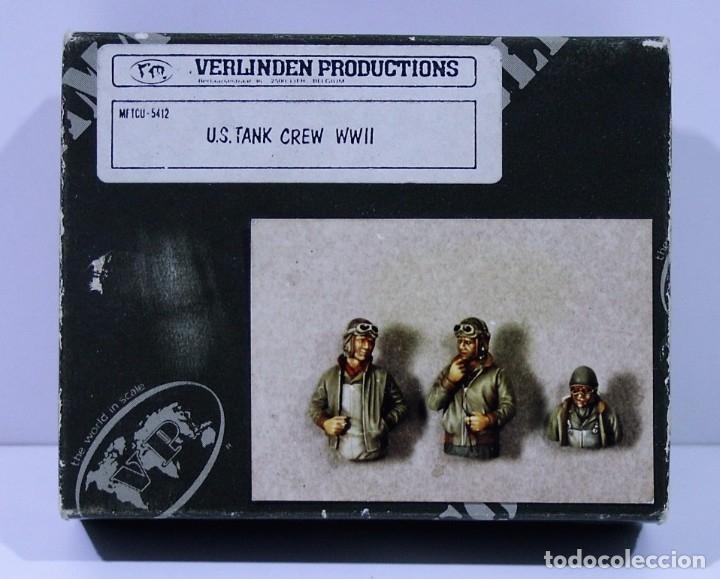 FIGURAS VERLINDEN US TANK CREW WWII ESCALA 1/35 (Juguetes - Modelismo y Radiocontrol - Maquetas - Militar)
