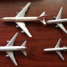Maquetas: LOTE AVIONES SCHABAK-BOING 747,BOING 767,909,906-TWA. Lote 177722402