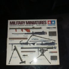 Maquetas: TAMIYA 1/35 WEAPONS SET. Lote 177766378