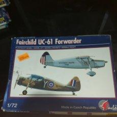 Maquetas: PAVLA MODELS 1/72 FAIRCHILD UC-61 FORWARDER. Lote 177766758