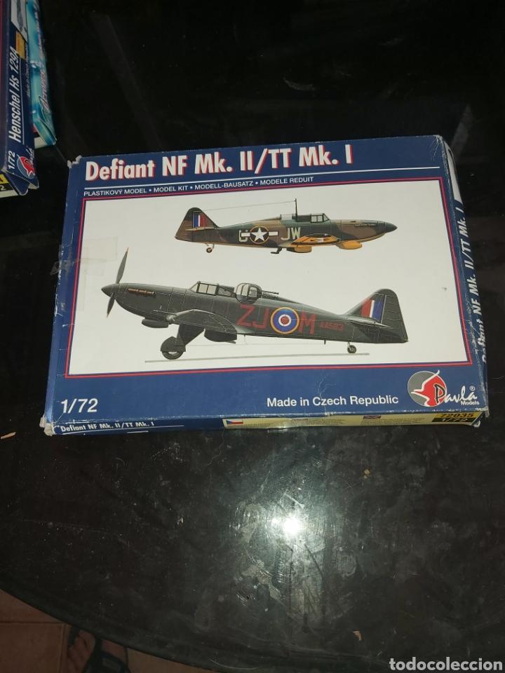 PAVLA MODELS 1/72 DEFIANT NF MK.II/TT MK.I (Juguetes - Modelismo y Radio Control - Maquetas - Aviones y Helicópteros)