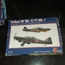 Maquetas: PAVLA MODELS 1/72 DEFIANT NF MK.II/TT MK.I. Lote 177766803