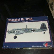 Maquetas: PAVLA MODELS 1/72 HENSCHEL HS 129A. Lote 177766845