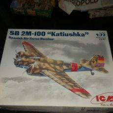 Maquetas: ICM SB 2M-100 KATIUSHKA 1/72. Lote 177767162