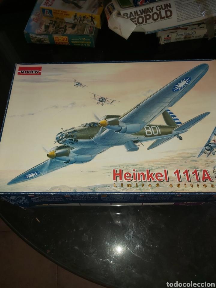 RODEN 1/72 HEINEKEL 111A (Juguetes - Modelismo y Radio Control - Maquetas - Aviones y Helicópteros)
