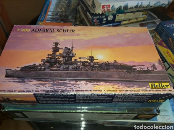 HELLER 1/400 ADMIRAL SCHEER (Juguetes - Modelismo y Radiocontrol - Maquetas - Barcos)