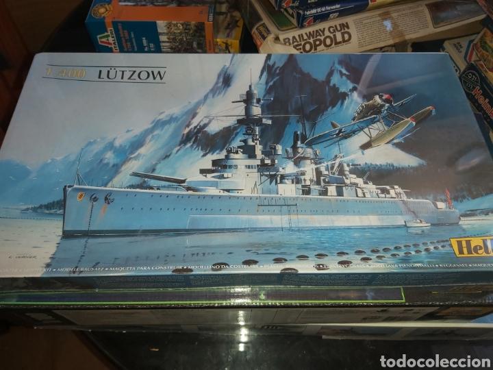 HELLER 1/400 LUTZOW (Juguetes - Modelismo y Radiocontrol - Maquetas - Barcos)
