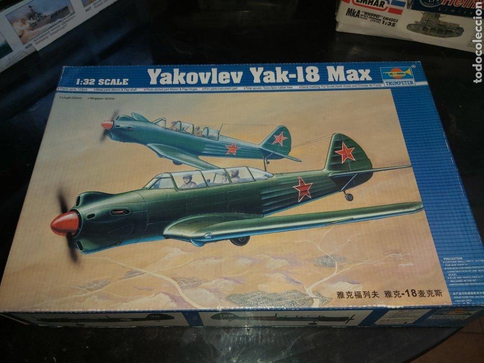 TRUMPETER 1/32 YAKOVLEV YAK-18 (Juguetes - Modelismo y Radio Control - Maquetas - Aviones y Helicópteros)