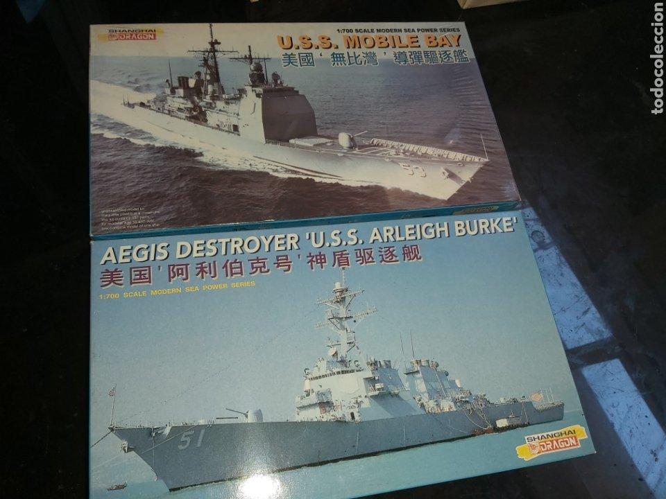 DRAGON 1/700 DOS MAQUETAS (Juguetes - Modelismo y Radiocontrol - Maquetas - Barcos)