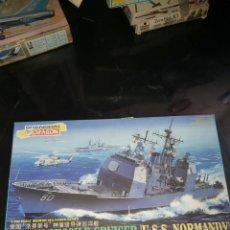 Maquetas: DRAGON 1/700 U.S.S NORMANDY. Lote 177773310