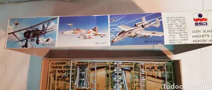 Maquetas: Maqueta avión HENSCHEL HS-129 escala 1/48 de ESCI, sin destroquelar - Foto 5 - 177806864