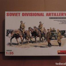 Maquetas: MAQUETA - MINIART 35045 SOVIET DIVISIONAL ARTILLERY 1/35. Lote 177828765