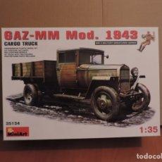 Maquetas: MAQUETA - MINIART 35134 GAZ-MM MOD.1943 CARGO TRUCK 1/35. Lote 177828969