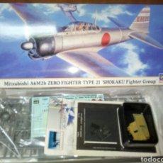 Maquetas: HASEGAWA A6M2B SHOKAKU 1/72. Lote 177838394