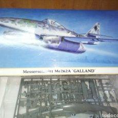 Maquetas: HASEGAWA 1/72 ME 262 GALLAND. Lote 177838604