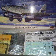Maquetas: ME 262B 1/72 HASEGAWS. Lote 177838933