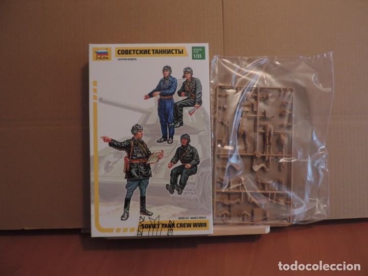 MAQUETA - ZVEZDA 3504 SOVIET TANK CREW 1/35 (Juguetes - Modelismo y Radiocontrol - Maquetas - Militar)