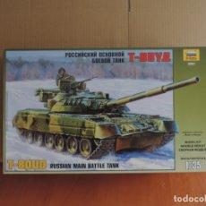Maquetas: MAQUETA - ZVEZDA 3591 T-80UD MBT 1/35. Lote 177884475