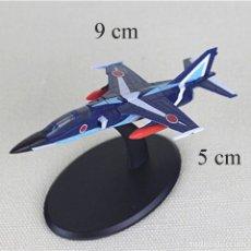 Maquetas: LOTE MAQUETA DE AVION - MITSUBISHI F- 1 PATRULLA ACROBATICA JAPONESA BLUE IMPULSE - LONG. 9X5 CM. Lote 177885005