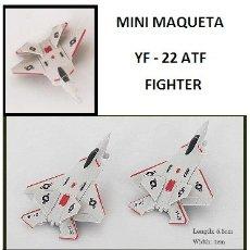 Maquetas: LOTE MAQUETA DE AVION - LOCKHEED MARTIN F-22 RAPTOR - US NAVY - LONG. 5,5X4 CM. Lote 177886238